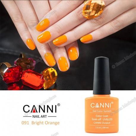 Bright Orange Geellakk