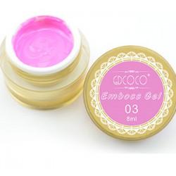 03 Canni 3 D emboss gel